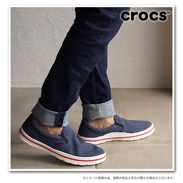 d6c6da28bfc6f7 CROCS clocks men gap Dis crocs norlin slip-on m no phosphorus slip-on men  NAVY WHITE shoes (201