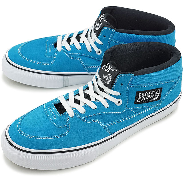 vans half cab blue sneakers