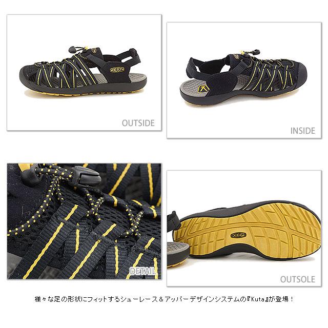 4820ce82dc01 mischief  KEEN Kean men sandal water shoes Kuta MNS Kuta men BLACK ...