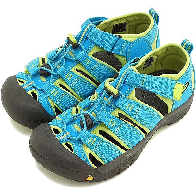 74cc81aa5bd2 KEEN keen kids Sandals water shoes Newport H2 YOUTH Newport Atto youth  (junior size) HAWAIIAN BLUE GREEN GLOW (1012314 SS15)