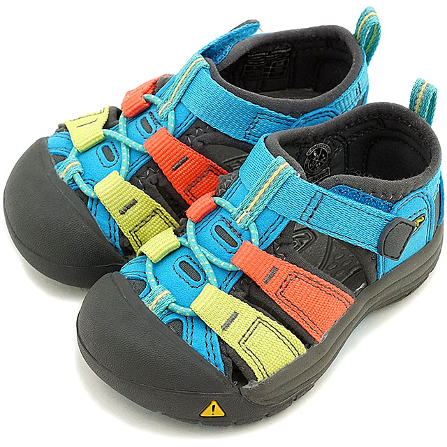 KEEN Kean kids sandal water shoes Newport H2 TOTS Newport H two toddler  (baby   baby size) Hawaiian Blue Multi (1012271 SS15)