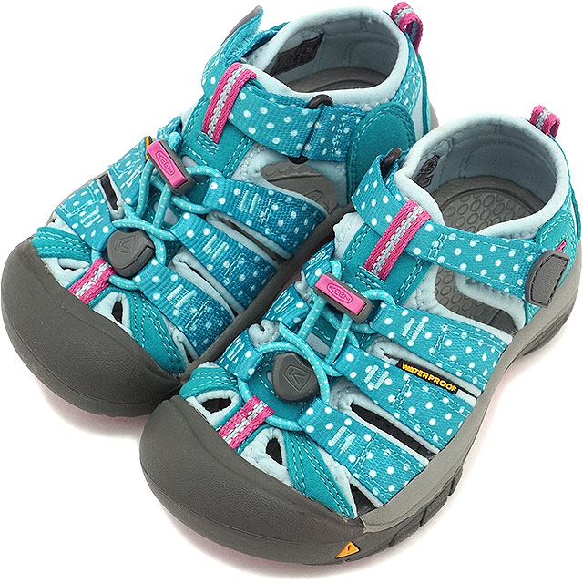 KEEN Kean kids sandal water shoes Newport H2 CHILDREN Newport H two children  (kids size) Capri Breeze Dots (1012290 SS15)