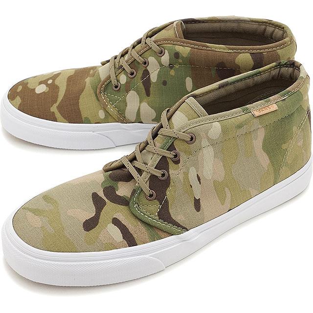 a915216a33870b VANS vans sneakers men gap Dis CALIFORNIA CHUKKA BOOT CA chukka boots ( MULTICAMO) CORIANDER (VN-0IK4FIE SS15)