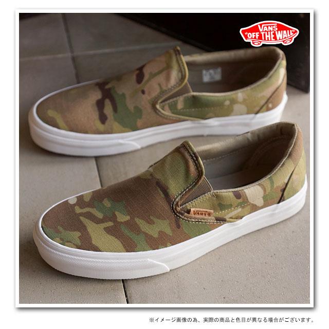 ccdf165b010af4 VANS vans sneakers mens Womens CALIFORNIA CLASSIC SLIP-ON CA classic slip-on  ( MULTICAMO ) ( VN-0IL5FIE SS15 ) CORIANDER