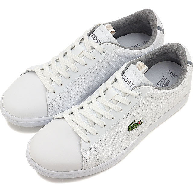 LACOSTE Lacoste sneakers Lady s CARNABY EVO CLS coat shoes WHT (WAE005-21G  SS15) a9f13c257e