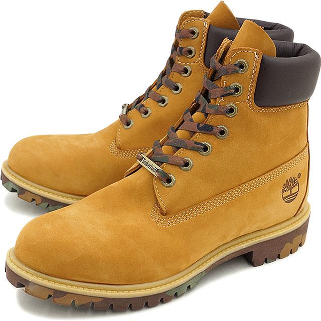 b876b6088b97 Timberland Timberland mens boots 6 inch Premium Boot 6 inch premium boots  Wheat Nubuck with Camo (6717 B SS15)