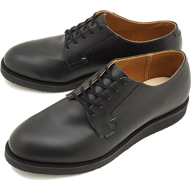【返品サイズ交換可】レッドウィング ポストマン オックスフォード REDWING 101 POSTMAN OXFORD BLACK CHAPARRAL 靴