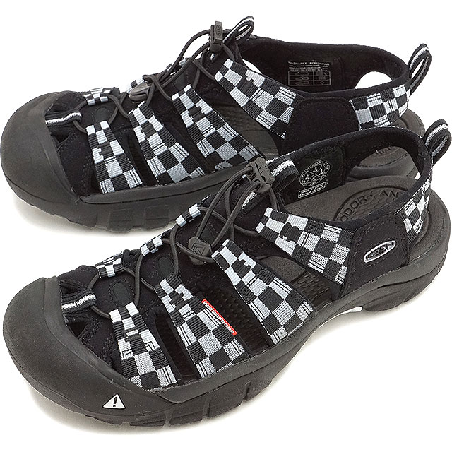 de576d7942fe Kean Newport H two KEEN Newport H2 MNS Checker Flag men sandal water shoes  1013008