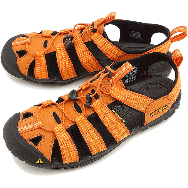 KEEN Kean men sandal water shoes Clearwater CNX MNS Clearwater sea N X men  SUNSET MARIGOLD (1012862 SS15)