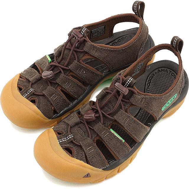 KEEN keen women's Sandals water shoes Hemp WMNS Newport Newport hemp women's REVOLUTION HEMP (1013032 SS15)
