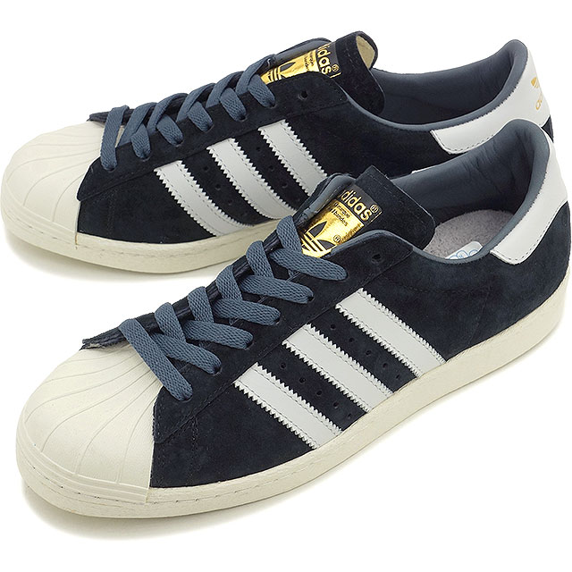 6478e27a799f adidas adidas originals sneakers SUPERSTAR 80 s DLX SUEDE superstar  eighties DLX suede core black   white vintage S15   gold met (B25961 SS15)