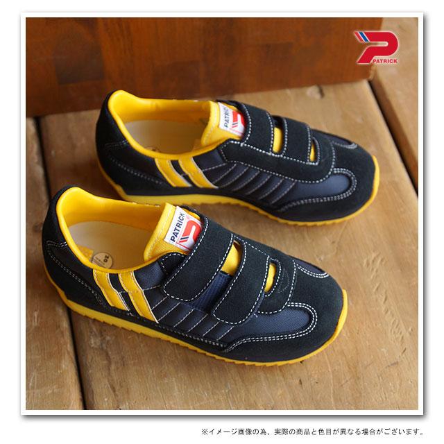帕特里克 Patrick 运动鞋婴儿鞋马拉松-V 孩子马拉松魔术贴 NVY (EN7702 SS15) 在日本用日本