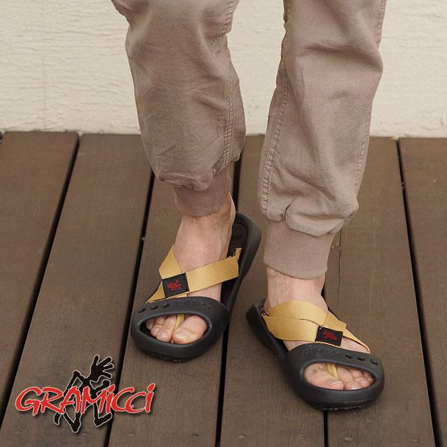 GRAMICCI 鞋類 gramicci 鞋男式女式涼鞋翻轉手掌皮帶涼鞋米色 (GR00015013BEGE SS15)