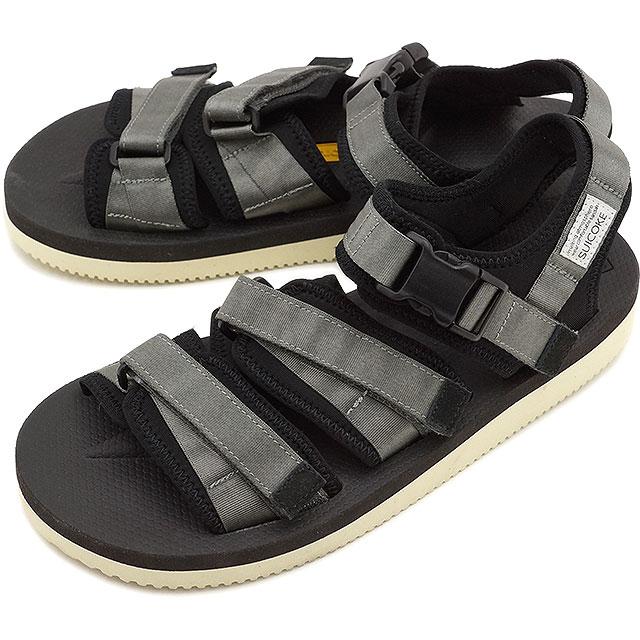 d48b5f15c65 SUICOKE Sui cook men gap Dis strap sandal vibram sole GGA-V gray (OG ...