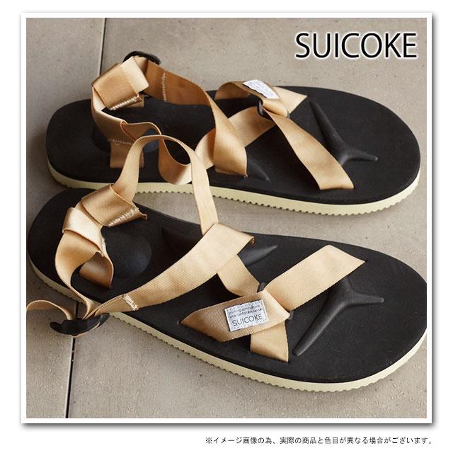 9b77ce99af48 SUICOKE Sui cook men gap Dis strap sandals vibram sole CHIN2 beige (OG-023-2  SS15)