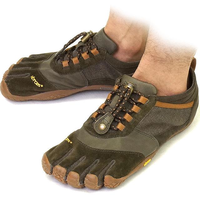 Vibram FiveFingers Vibram five fingers mens TREK ASCENT LR Caramel/Brown Vibram five fingers five finger shoes barefoot (15M460240)