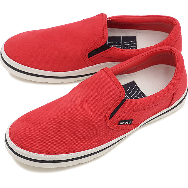 957acc5e1a6950 CROCS clocks men gap Dis crocs norlin slip-on m no phosphorus slip-on men  RED WHITE (201