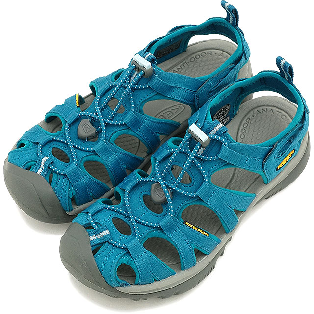 Kean we spar women sandal water shoes KEEN Whisper WMNS CELESTIAL CORYDALIS  BLUE (1012230 SS15)