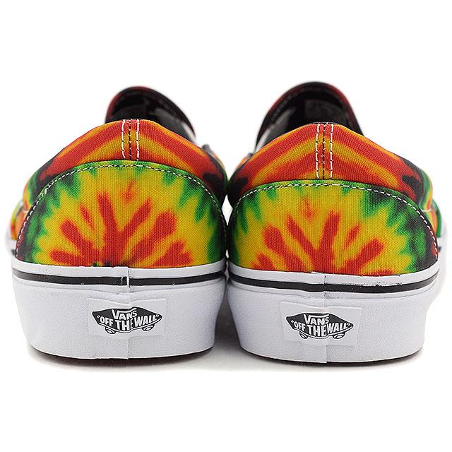 dec1f7ecb734 VANS vans sneakers mens Womens CLASSICS CLASSIC SLIP-ON classic slip-on (TIE  DYE) RASTA MULTI (VN-0ZMRFQ1 SS15)