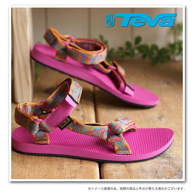 b1102519f88f1 Teva Teva Lady s sandal WMN Original Universal original universal sports  sandal WMN strap sandal WMN MOSAIC ORANGE (1003987-MORN SS15)
