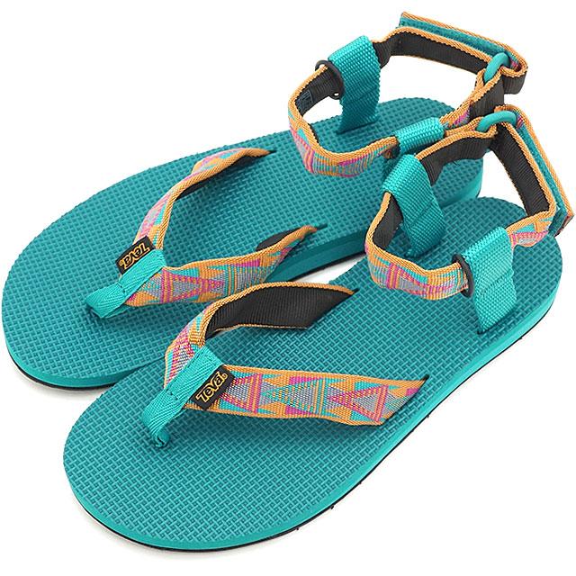 d8c4d504c4cbf Teva Teva Lady s sandal WMN Original Sandal original sandal WMN sports  sandal WMN strap sandal WMN MOSAIC ORANGE (1003986-MORN SS15)