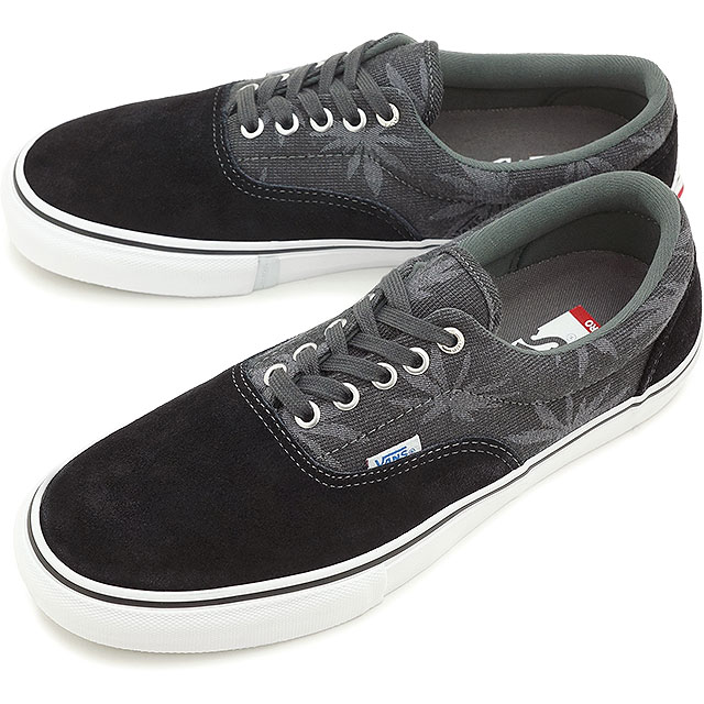 VANS vans sneakers men s women s ERA PRO Ella Pro (PALM JACQUARD) BLACK  (VN-0VFBFJ7 SS15) f7f769c3e4