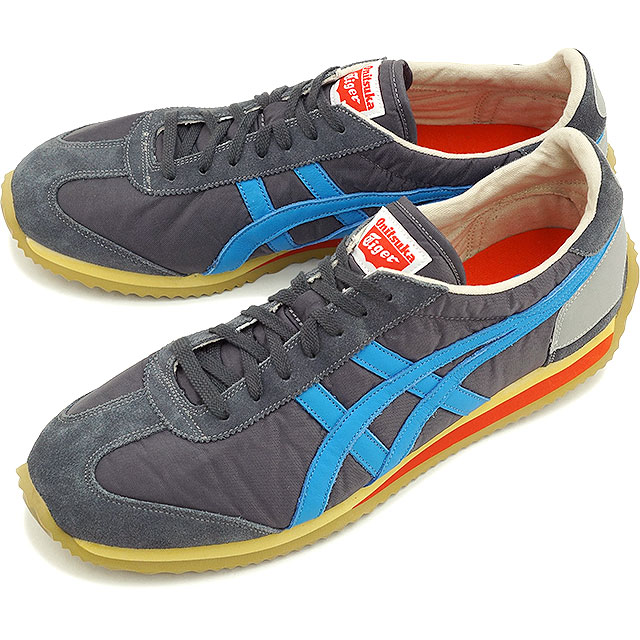 Onitsuka Tiger ONITSUKA Tiger mens Womens sneakers CALIFORNIA 78 VIN California  78 vintage dark gray  Malibu blue (TH 110N-1643 SS15)