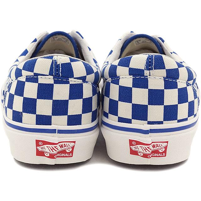 货车货车运动鞋男子女子跳马 OG 时代 LX Ella LX (棋盘) 真正的蓝色 (VN 0OZDFBV SS15)