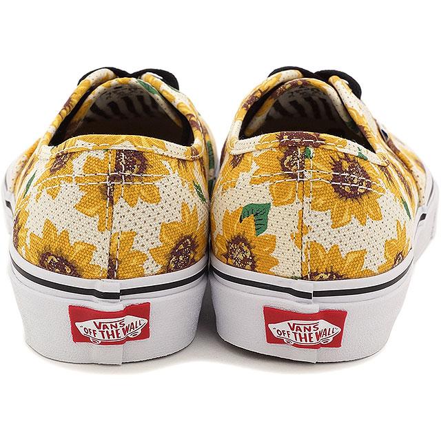 dbac8fdba3b9 VANS vans sneakers men gap Dis CLASSICS AUTHENTIC authentic (SUNFLOWER) TRUE  WHITE (VN-0ZUKFN0 SS15)