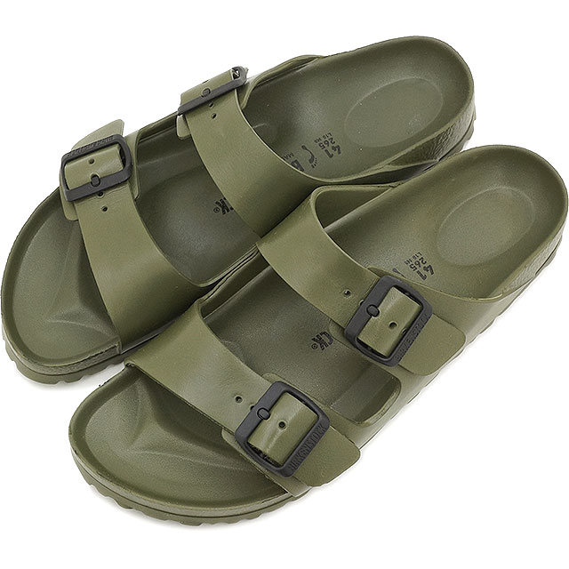 6418fde2e9bbd BIRKENSTOCK men s ARIZONA sandal and Arizona EVA Khaki Birkenstock ladies  (129493   129491 SS15)