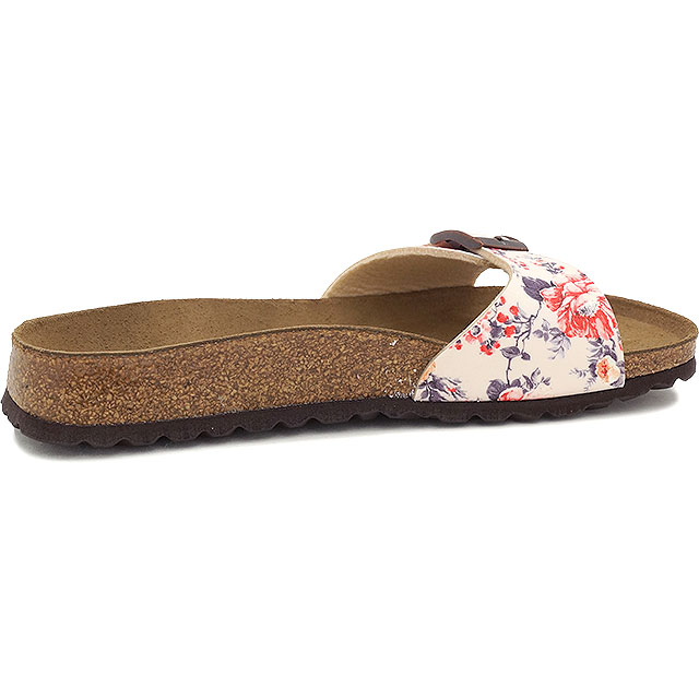 flowered birkenstock sandals