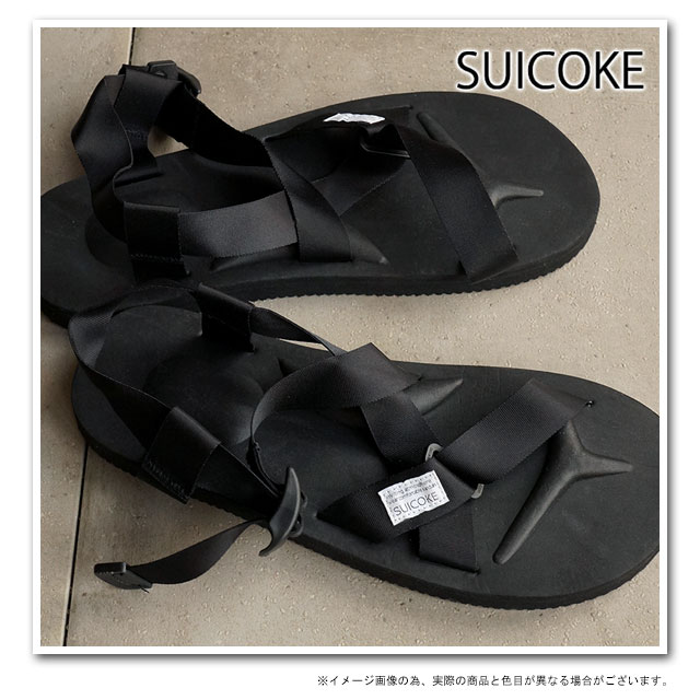 400946653dc3 SUICOKE Sui cook men gap Dis strap sandal vibram sole CHIN2 black (OG-023-2  SS15)