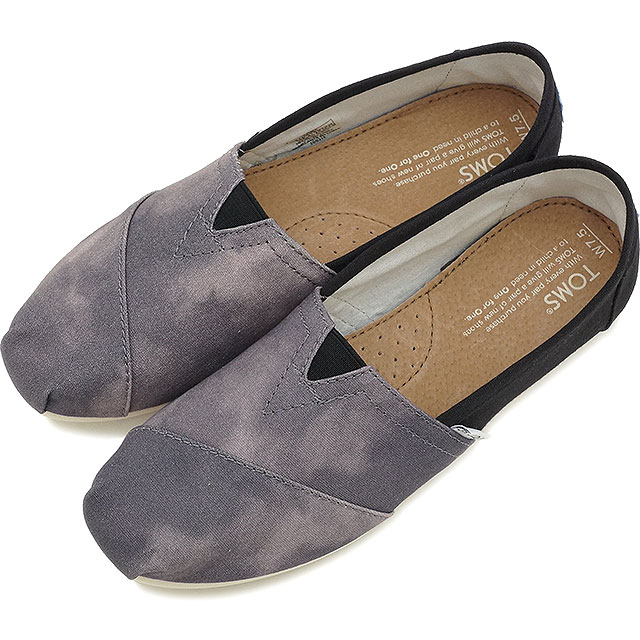 6c5e72f544f TOMS Tom s shoes Lady s slip-ons WOMENS-SEASONAL CLASSICS seeds null  classical music Black Canvas Washed (10004890 SU15)