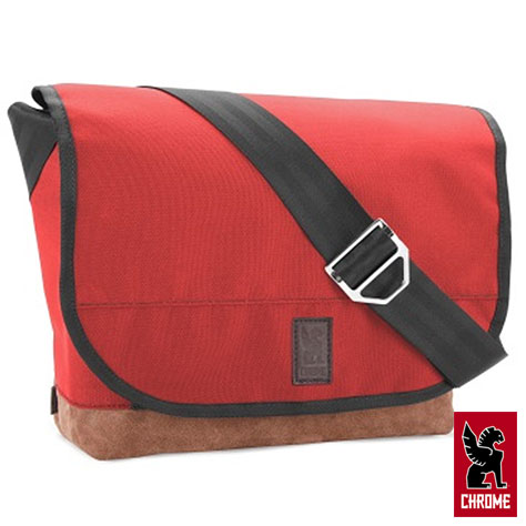 Chrome Bag Messenger Classic A Red Synthetic Suede