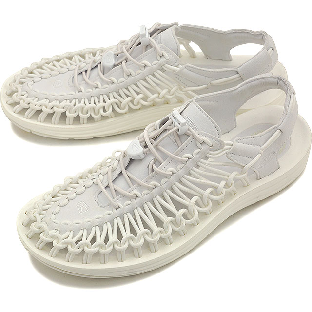 熱衷於熱衷於男式涼鞋 UNEEK 3 c 男人獨特切片星白 (1014098 SS16)