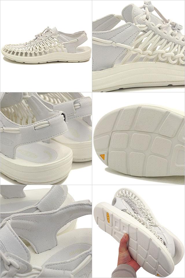 e352919c27fd KEEN UNEEK 3 c WOMEN Star White Keane unique slice ladies Sandals (1014100  SS16)