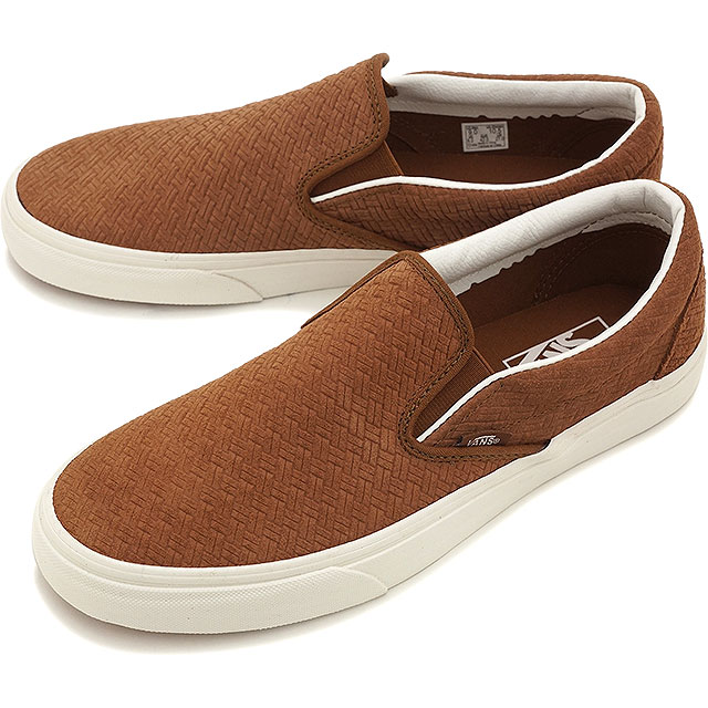 ce2a97470b8 VANS vans slip-ons sneakers men gap Dis CLASSIC SLIP-ON classical music slip -on (BRAIDED SUEDE) DACHSHUND (VN0003Z4INZ SS16)
