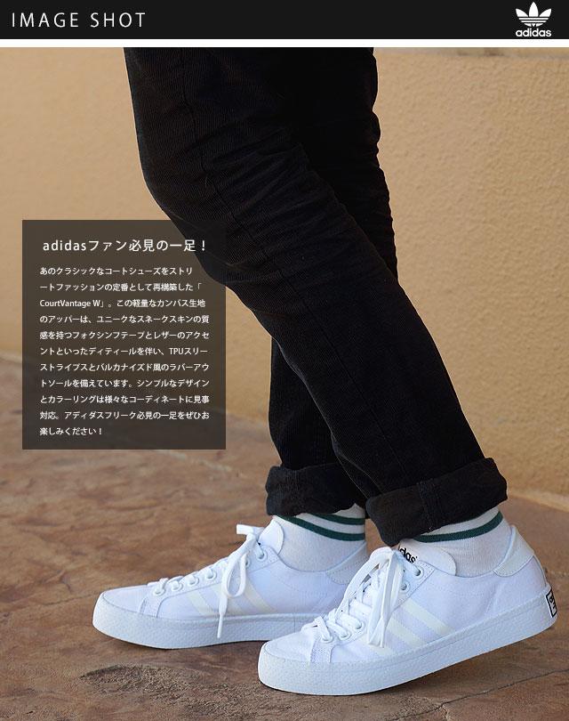 167f9f38f7 ... adidas Originals adidas originals sneakers Womens CourtVantage W coat  Vantage Womens running white / running white ...
