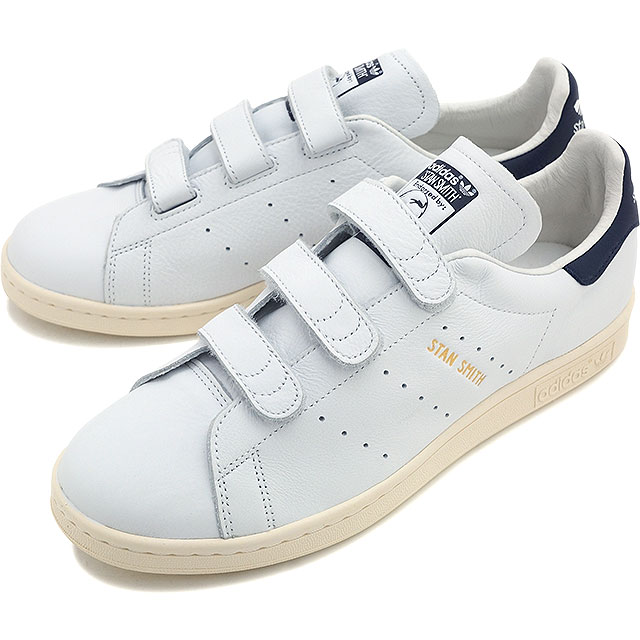 adidas Originals adidas originals sneakers mens Womens STAN SMITH CF Stan  comfort Velcro running White   College Navy   running white AQ3192 SS16 3d34848d3