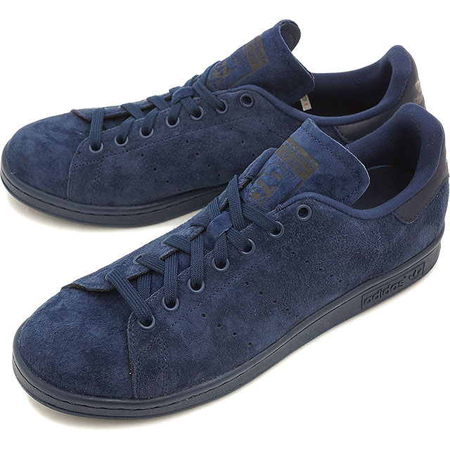 pretty nice 43695 cb67f adidas Originals Adidas originals sneakers shoes men gap Dis STAN SMITH  Stan Smith suede cloth knight indigo   knight indigo   core black S75107  SS16