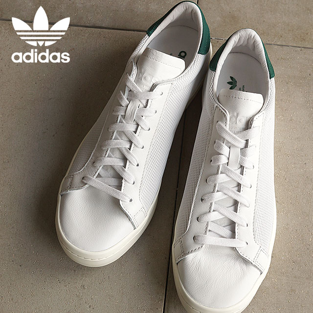adidas Originals adidas originals sneakers mens Womens CourtVantage coat Vantage  vintage white S15 / chalk white / College affiliate green S78762 SS16
