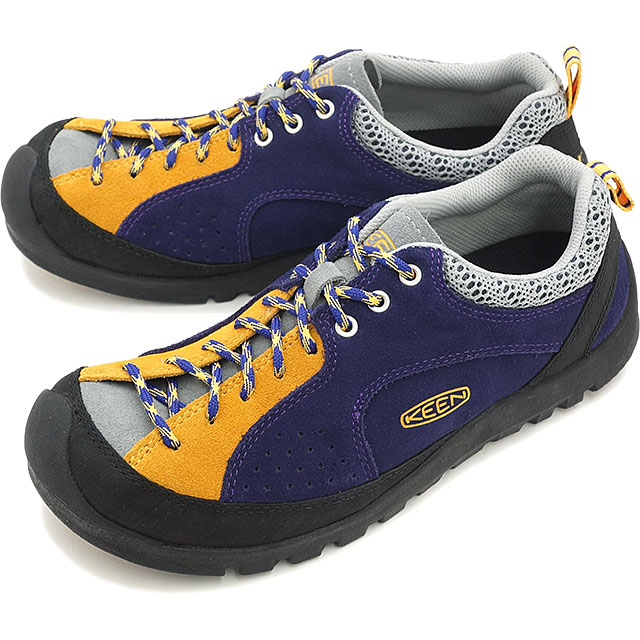 7c224fedbc0cc Keane Jasper rocks men's trekking shoes KEEN Jasper Rocks MEN Gothic  Grape/Saffron (1014880 SS16)
