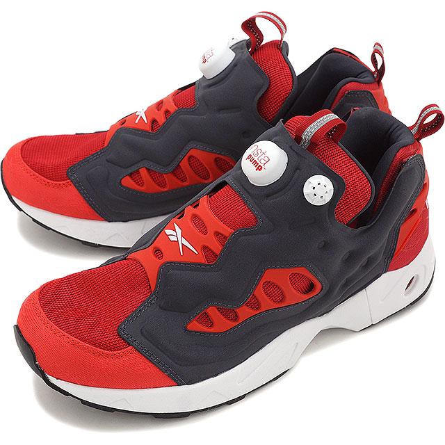 99a2c830372ece Reebok classics men s women s sneaker instapompfury road Reebok CLASSIC INSTAPUMP  FURY ROAD FLASH RED MOTOR RED WHITE COAL (V69399 SS16)