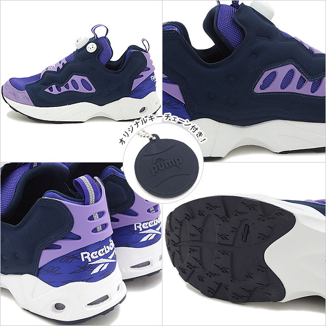 a6a5ca282e748e リーボッククラシックメンズレディーススニーカーインスタポンプフューリーロード Reebok CLASSIC INSTAPUMP FURY ROAD  TEAM PURPLE SMOKY VIOLET CLLG NAVY WHITE ...