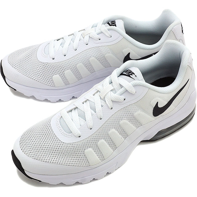 the latest 49c64 6af12 ... NIKE Mens sneakers Air Max in bigger NIKE AIR MAX INVIGOR white black  (749680 ...