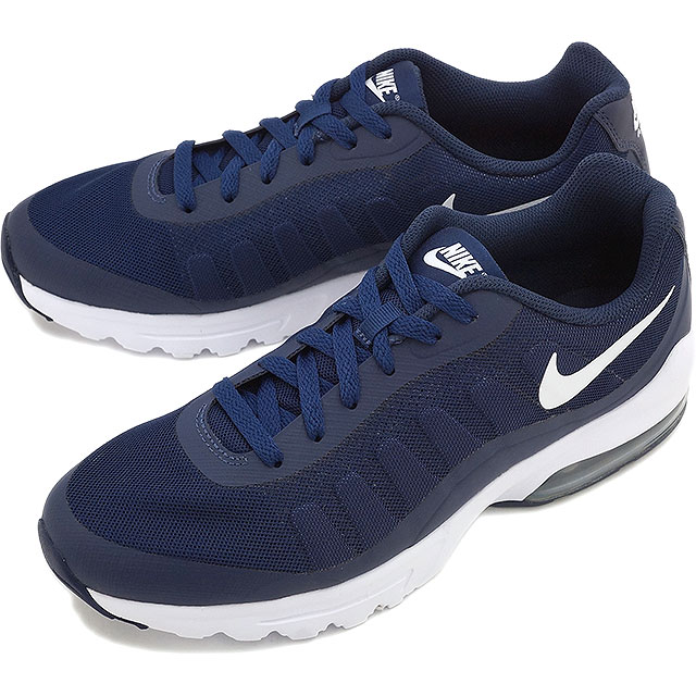 sports shoes 8e367 9ed66 ... NIKE Mens sneakers Air Max in bigger NIKE AIR MAX INVIGOR Midnight Navy  white ...
