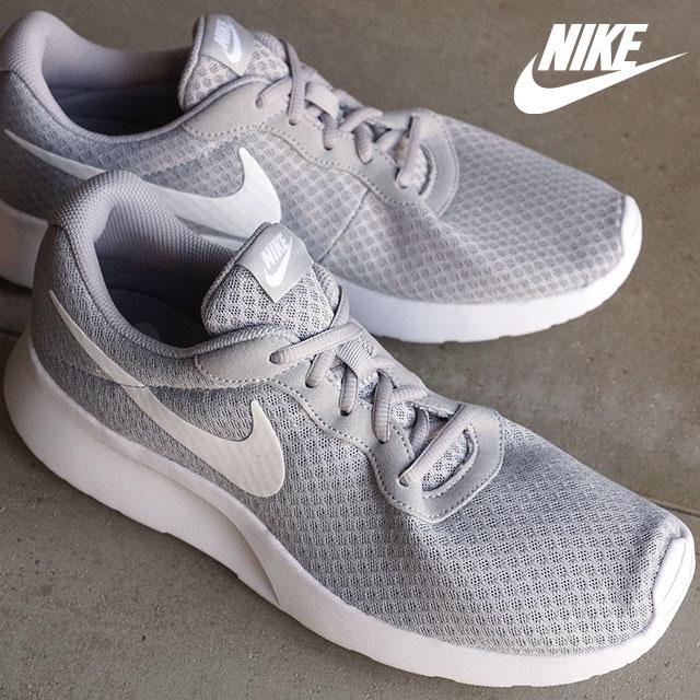 mischief  Nike men sneakers shoes tongue Jun NIKE TANJUN wolf gray ... 52b359382