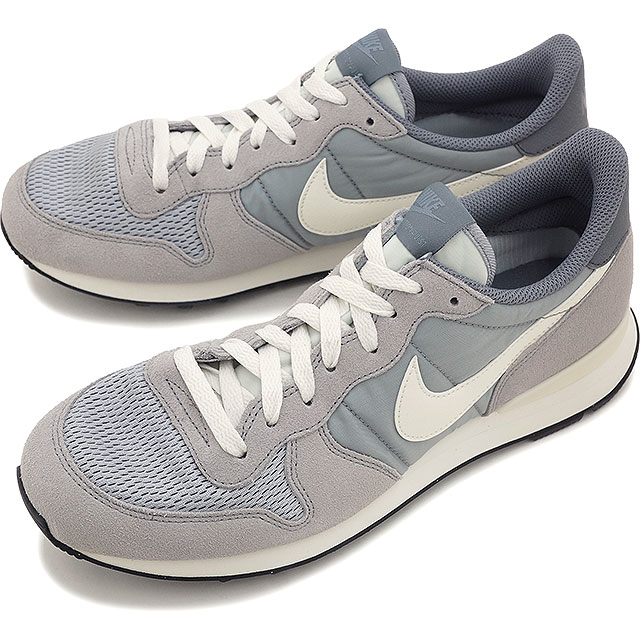 pretty nice 65c3a 84bc4 NIKE Mens sneakers internationalist NIKE INTERNATIONALIST Wolf grey   sail    sail   cool grey ...