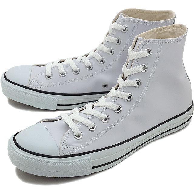 コンバース レザー オールスター ハイカット CONVERSE LEA ALL STAR HI ホワイト 靴 [32044990]【e】