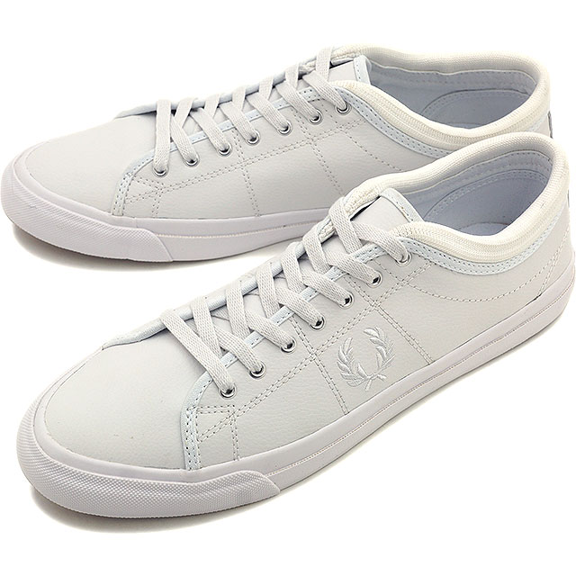 58ae8921e2 FRED PERRY Fred Perry sneakers shoes men KENDRICK TIPPED CUFF LEATHER  ケンドリックチップドカフ ...